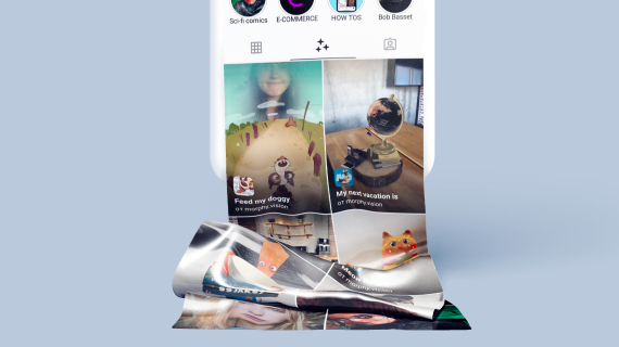 Publishing and promoting AR filters
